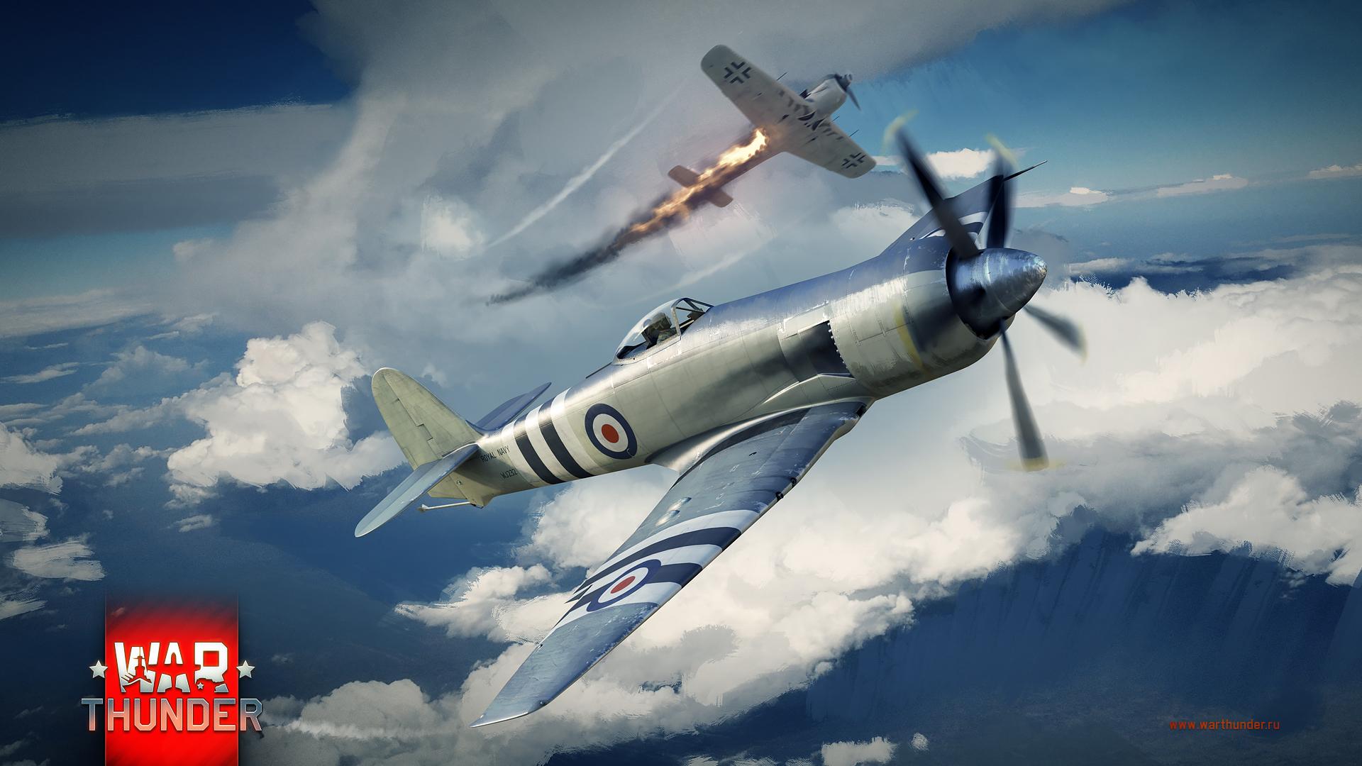рисунок War thunder Seafury