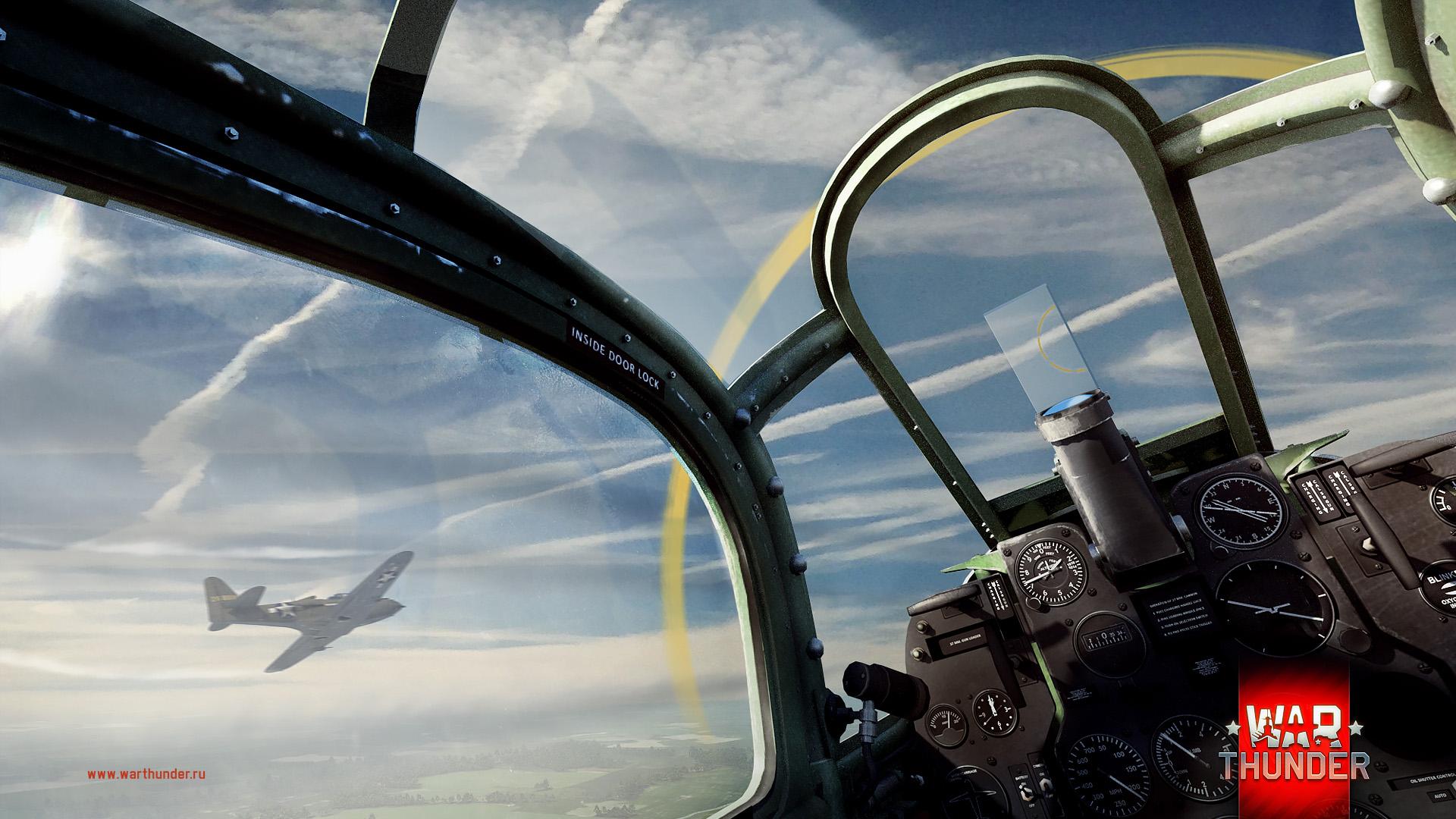 рисунок вид из кабины аэрокобры