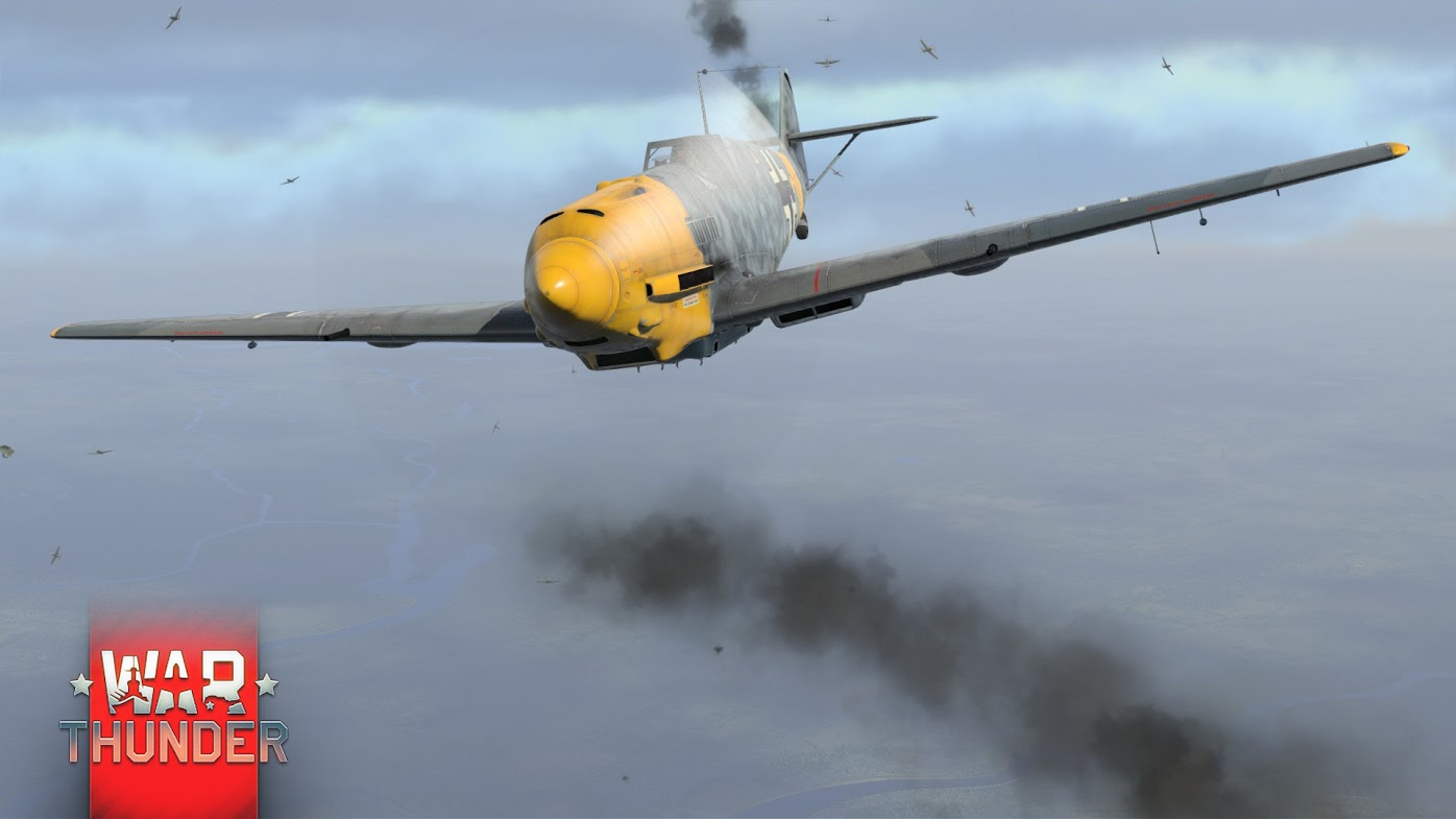 bf109e war thunder