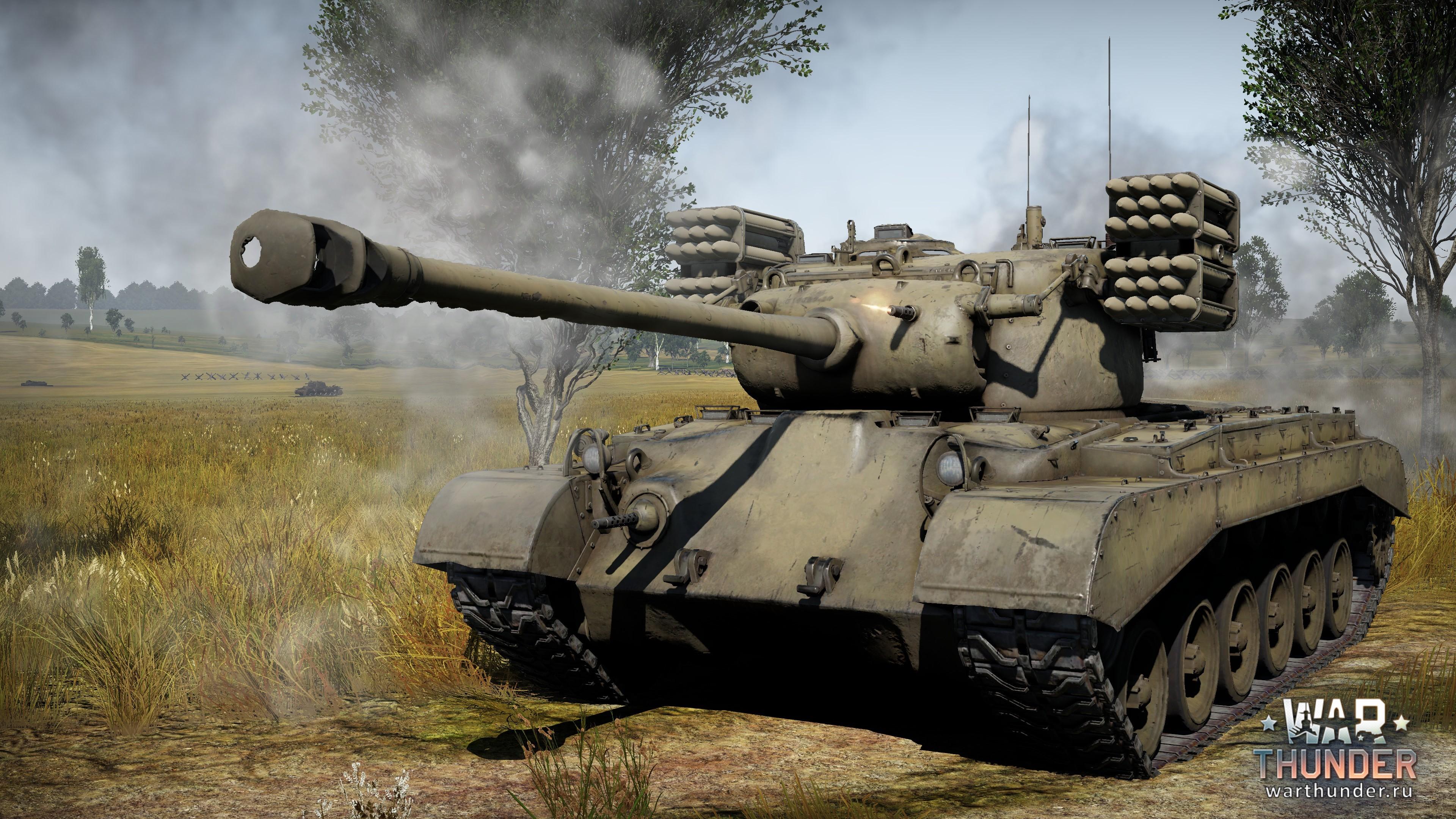 танки с ракетами вар тандер
