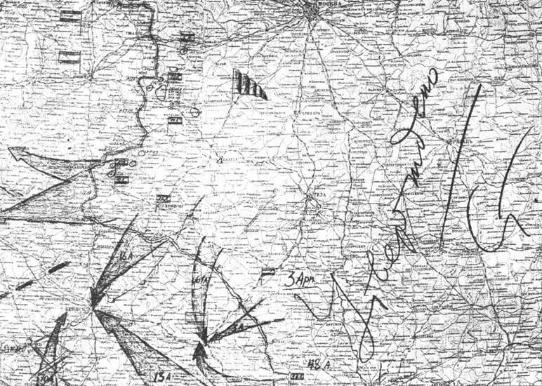 Военные карты в картинках