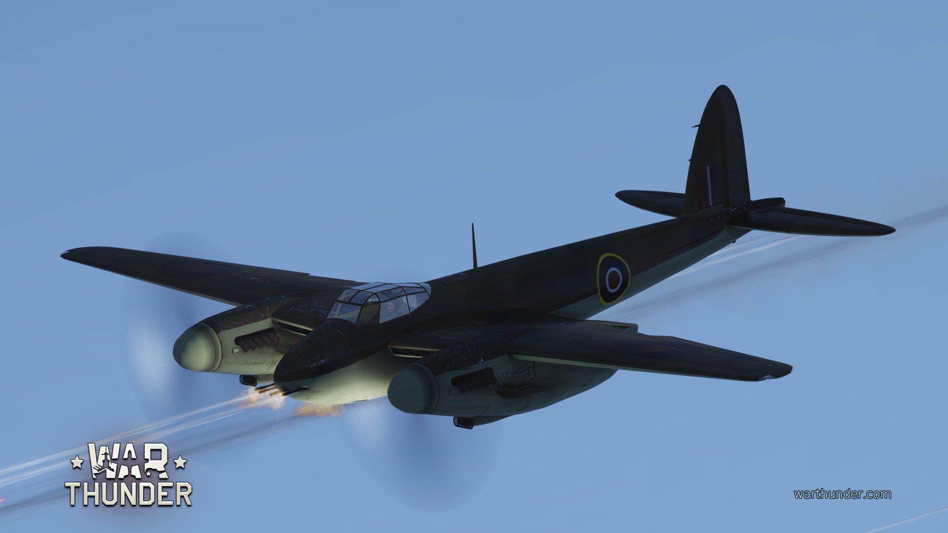 Обои De havilland mosquito, британский многоцелевой бомбардировщик. Авиация foto 17