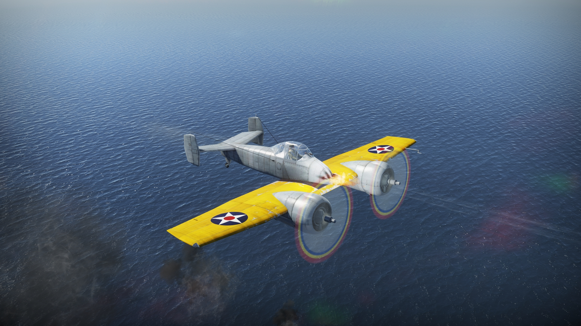 war thunder xf5f