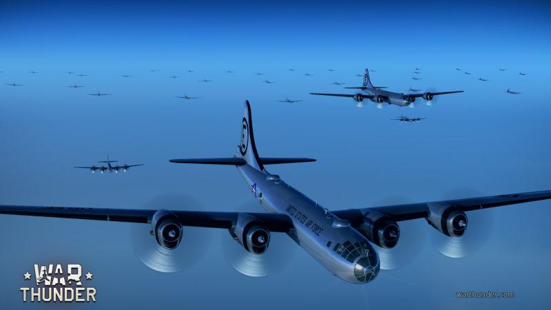 вар тандер самолеты бомбардировщики