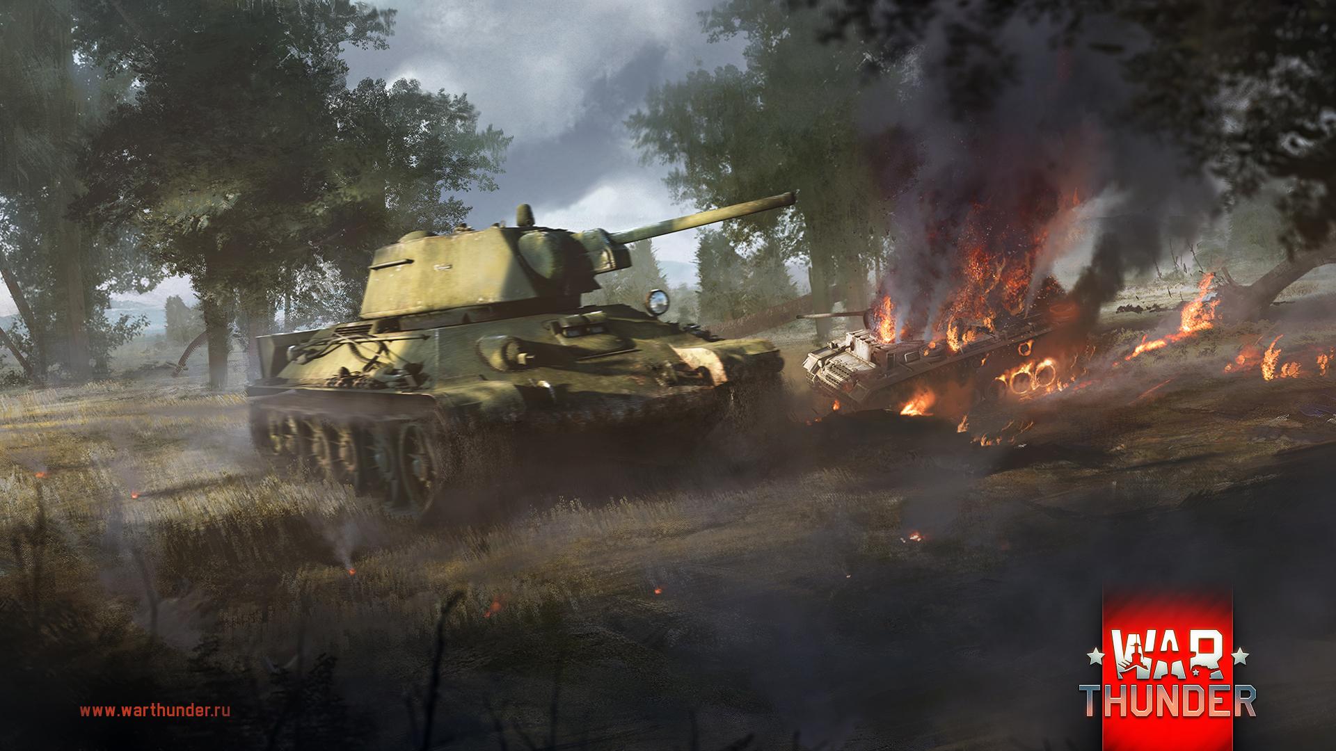 рисунок Т-34-76 vs Pz.Kpfw IIIL