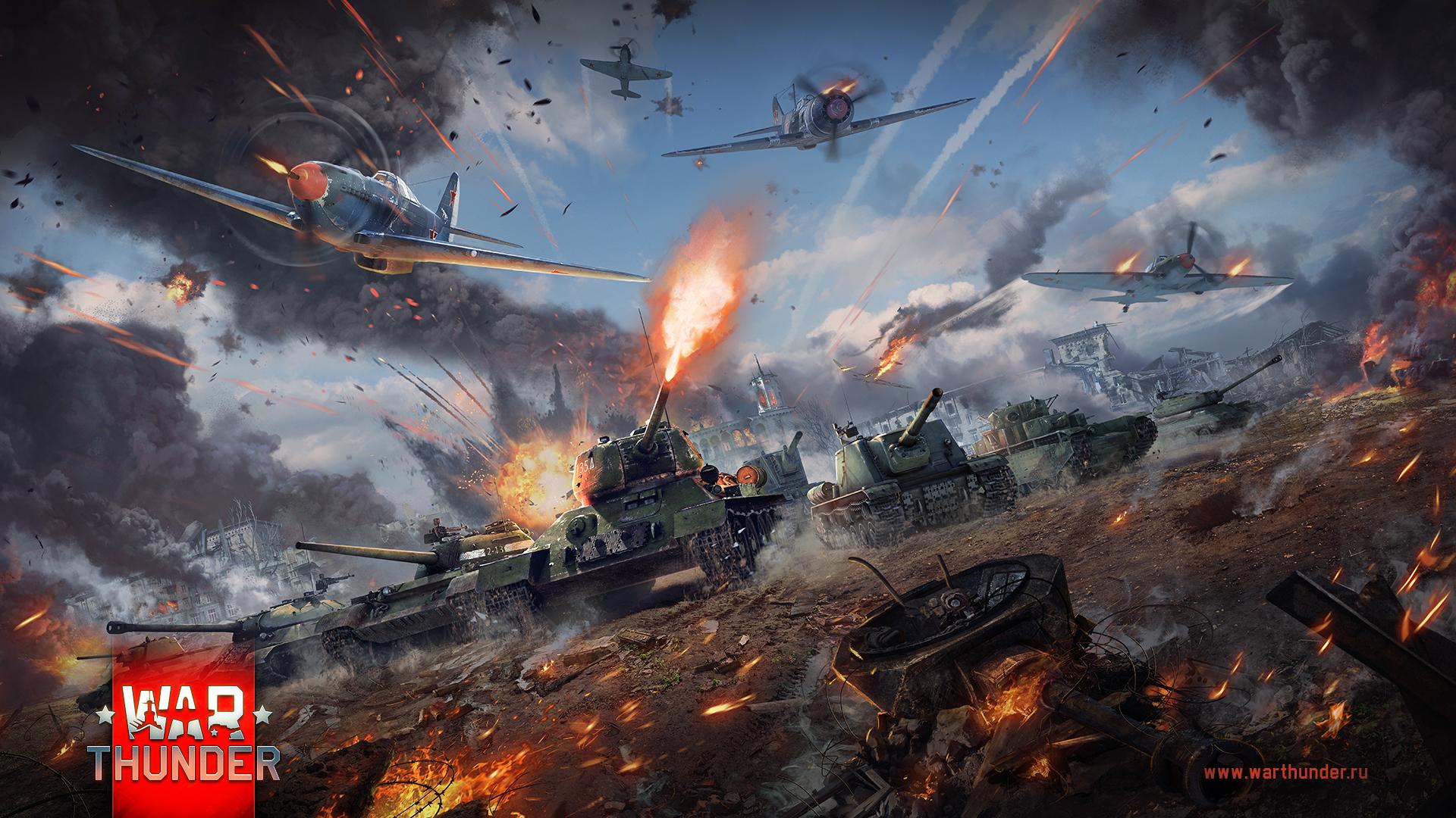 рисунок War Thunder советские танковые части