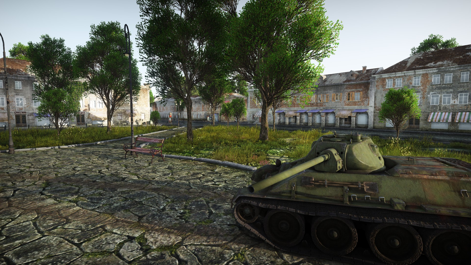 Under Construction City Location Poland News War Thunder