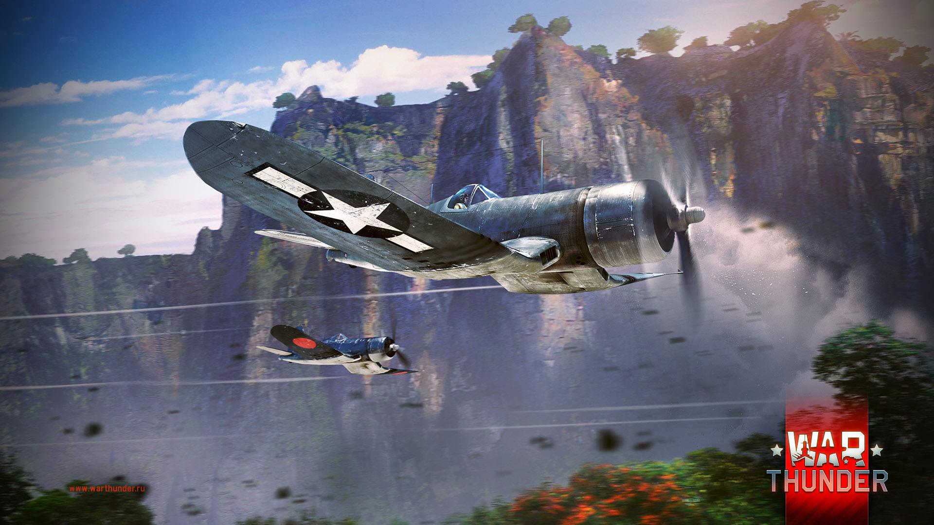 рисунок War Thunder F4U