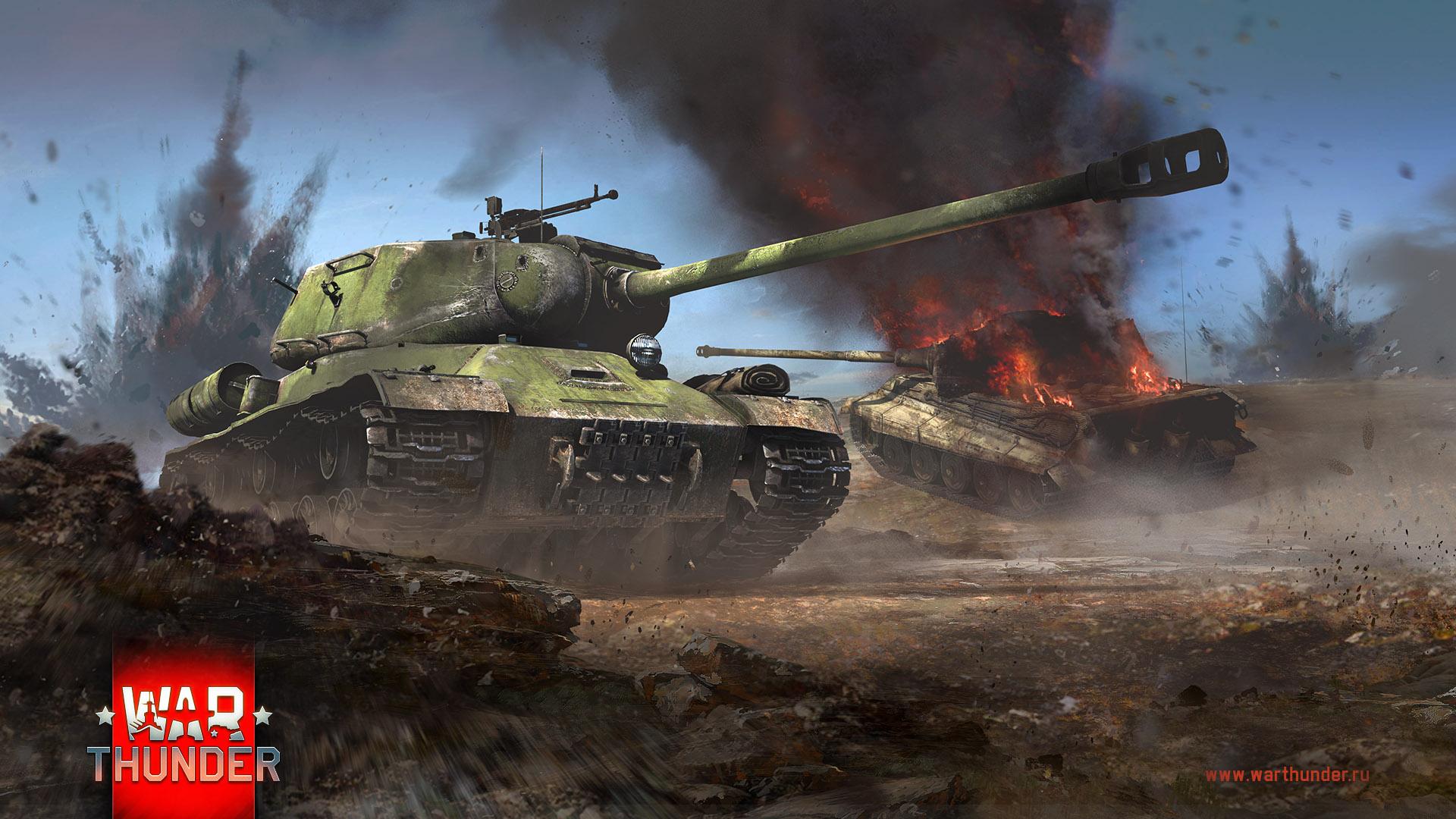 рисунок Ис-2 против Королевского тигра