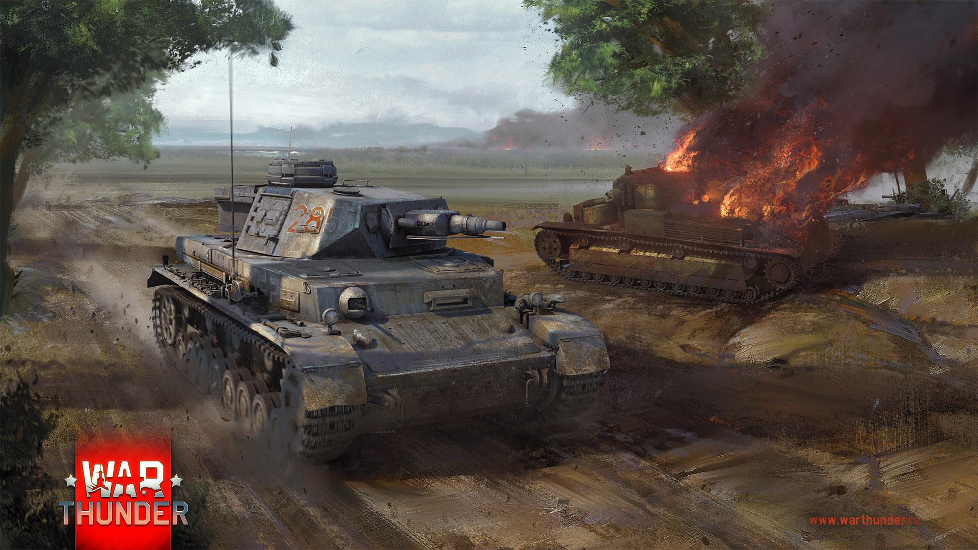 рисунок Pz.Kpfw. IV F vs Т-28
