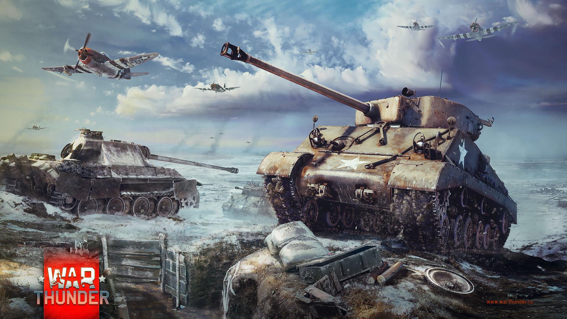 танк шерман видео в вар тандер